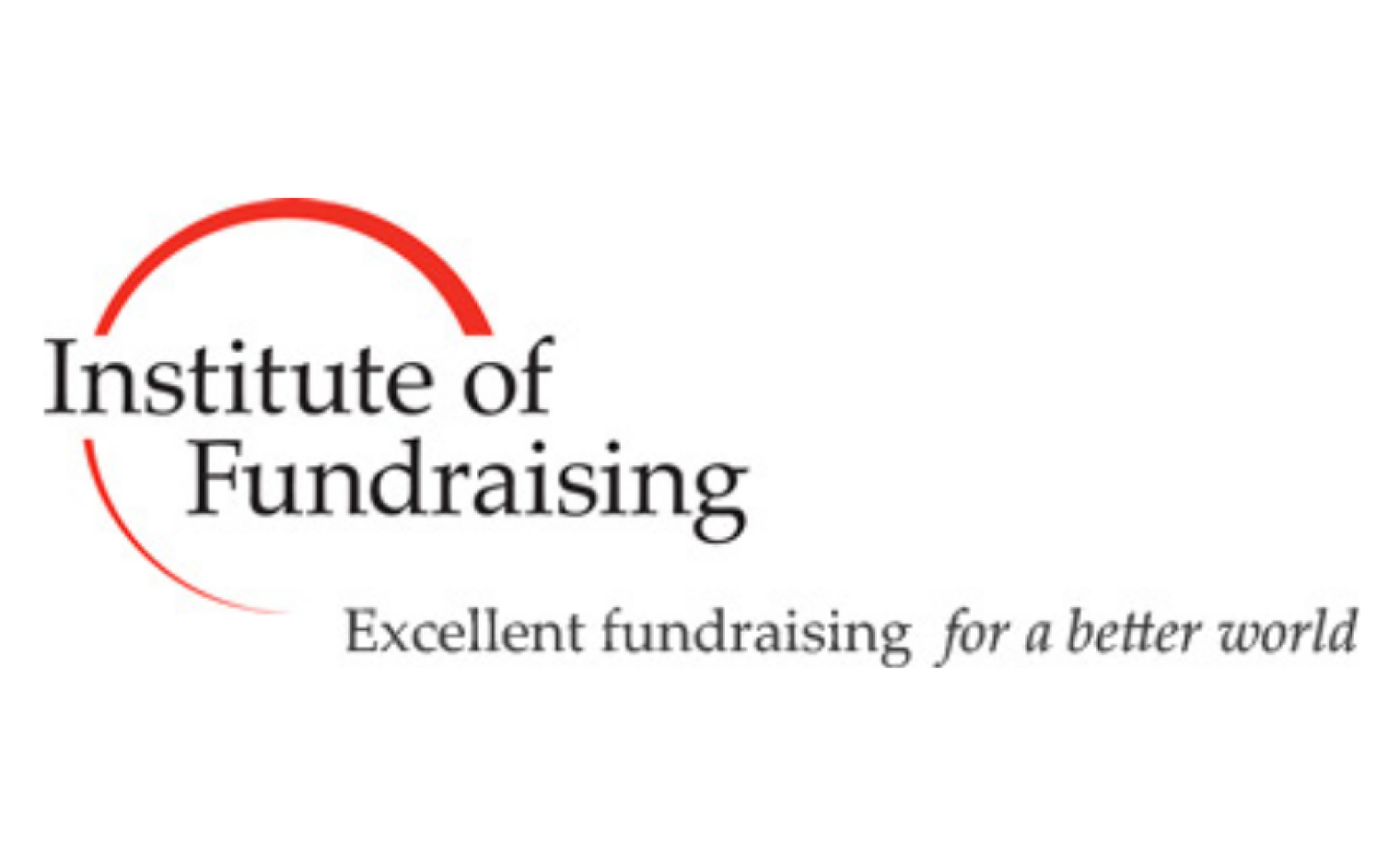 Logo van Institute of Fundraising UK.