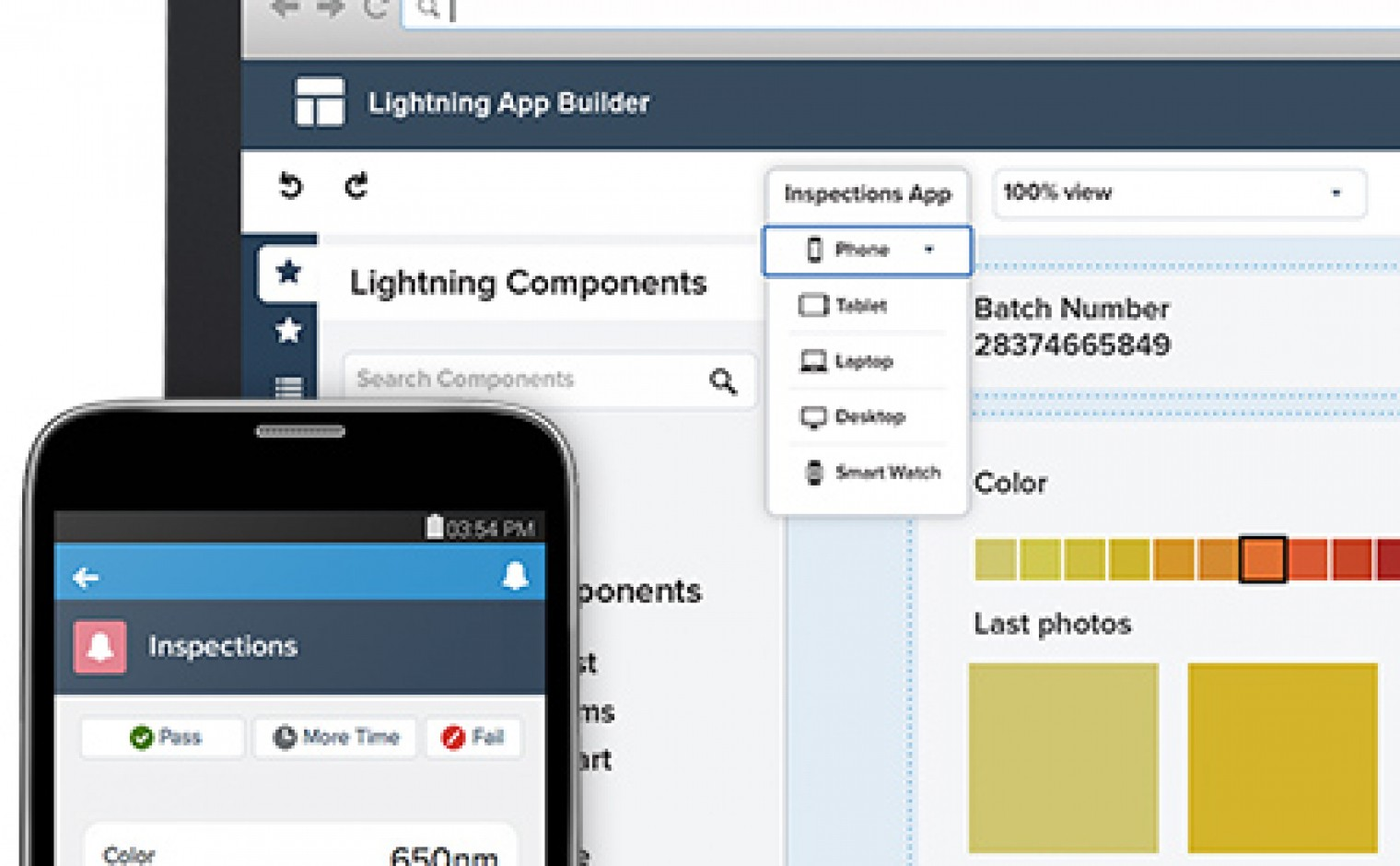 Salesforce1 Lightning Components en App Builder