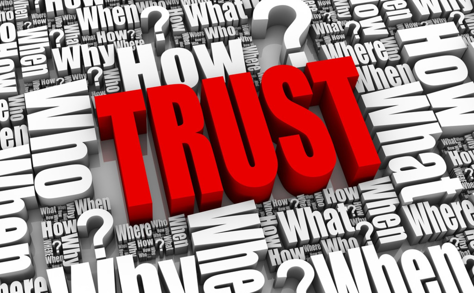 Wordcloud - trust