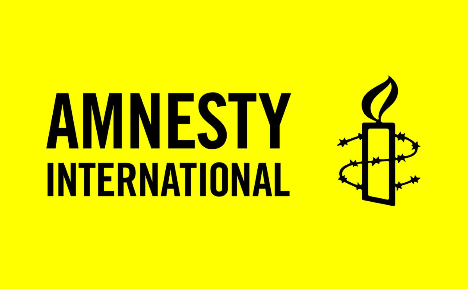 Logo van Amnesty International.