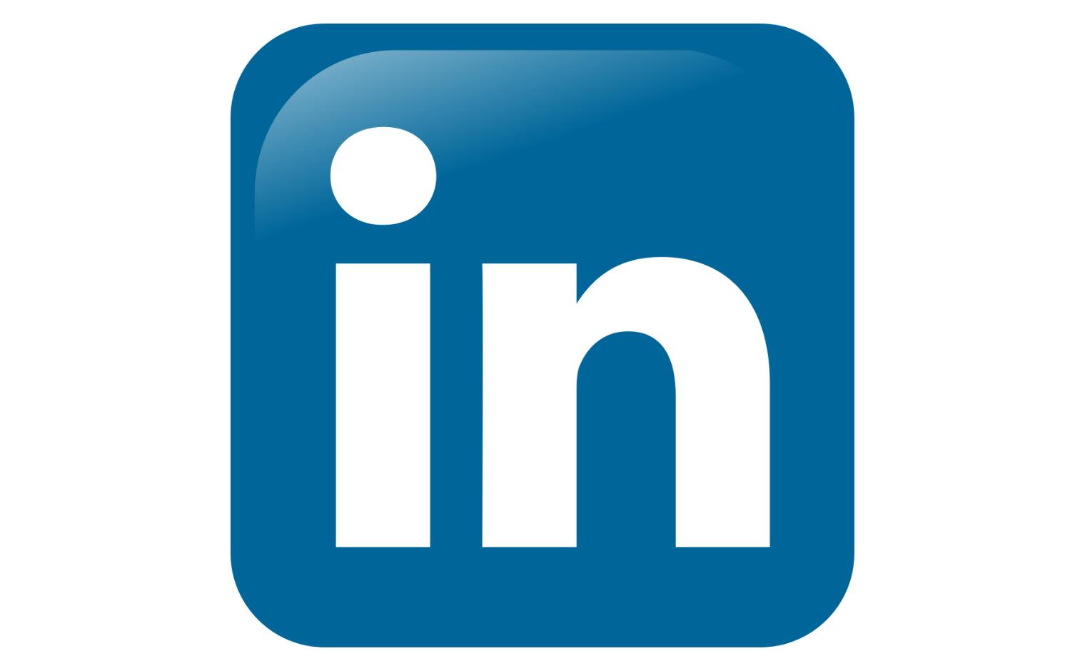 Logo van LinkedIn.